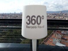 Hotel Barcelo Raval. Hotel met een dakterras waar je heel Barcelona kan zien.