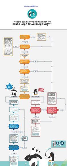 Hướng dẫn kiểm tra Website có bị dính thuật toán Google Panda hay Google Penguin hay không