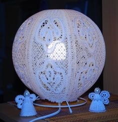 Advanced Embroidery Designs - FSL Battenberg Lamp Shade