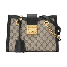 06c938f36be Gucci Small Padlock Gg Supreme Shoulder Bag