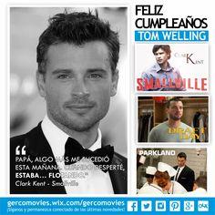 Los años han alcanzado a #ClarkKent. 38 años cumple #TomWelling, actor, director y productor #Smallville #TheFog #Parkland