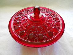 Vintage Candy Dish with Cover