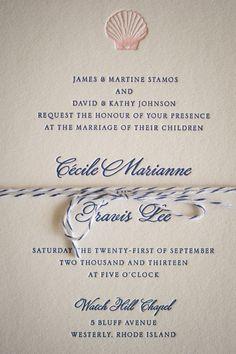 Nautical Wedding Invites | Carla Ten Eyck Photography | #NauticalWeddings