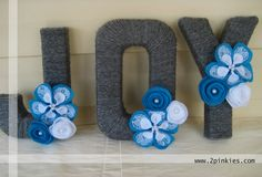 Felt and Lace Flowers Lace Flowers, Fabric Flowers, Yarn Letters, Letter Set, Champagne, Felt, Easter, Wedding Ideas, Lettering