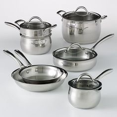 Stainless Steel Cookware Set - by The Food Network