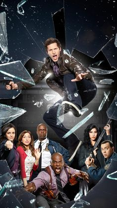 Brooklyn 99 poster on sale at theposterdepot. Poster sizes for all occasions. Brooklyn 99 Poster for sale. Brooklyn Nine Nine Funny, Brooklyn 9 9, Series Movies, Tv Series, Netflix Series, Chelsea Peretti, Charles Boyle, Jake And Amy, Brooklyn 99 Cast
