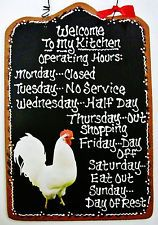 ROOSTER Kitchen Operating Hours Yep thats me...