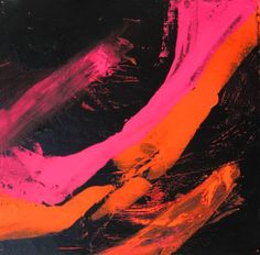Hand-painted Abstract Oil Painting - Good Friday