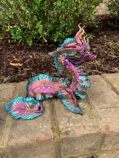 Big Dragon, Black Dragon, Dragon Project, Crystal Dragon, Color Dust, Beautiful Dragon, Nureyev, Seahorses, Clay Animals