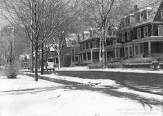 Grandview Avenue, Mount Washington, Pittsburgh; February 12, 1943