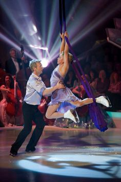"""Torvill and Dean on """"Dancing on Ice."""""""