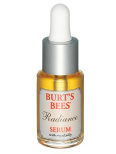 Burts Bees Radiance Serum    I have NEVER noticed such a difference in my face I now use the whole line and I am obsessed.  I am now switched onto their body washes too.  <3 it yo!