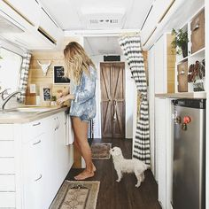 What more could you want? Tiny house // airstream living !