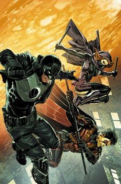 "alcaantaraas: ""Batman & Robin Eternal #22-23 covers by Carlo Pagulayan............!!!! """