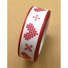 Washi Tape (red, heart)