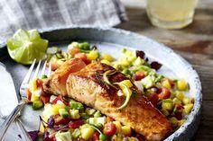 Gebackener Lachs mit Senf-Dill-Guss, ein sehr leckeres Rezept aus der Kategorie Fisch. Bewertungen: 56. Durchschnitt: Ø 4,6.