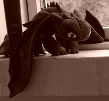 make your own Toothless - How to Train Your Dragon