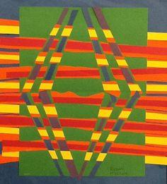Russell Mc's art on Artsonia, grade 3- Donna Staten lesson