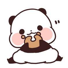 Panda Love Cute Background Chibi Craft