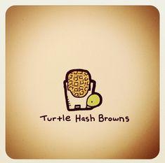 Turtle Hash Browns by Emoji Drawings, Kawaii Drawings, Animal Drawings, Cute Turtle Drawings, Cute Drawings, Turtle Sketch, Tiny Turtle, Turtle Love, Cute Turtles