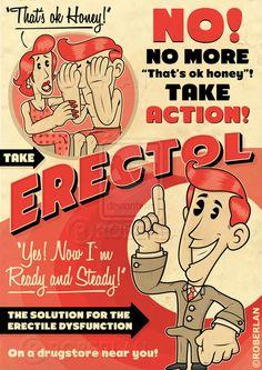 Vintage Ads - Erectol