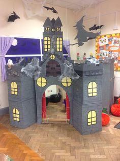 Halloween Classroom Door, Casa Halloween, Halloween Haunted Houses, Halloween Games, Halloween Activities, Halloween Projects, Halloween Kids, Scary Houses, Spooky House