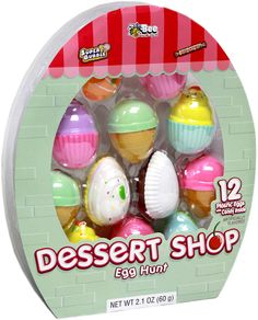 Dessert Shop Candy-Filled Easter Eggs 12ct.