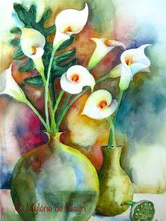 Bouquet met calla's