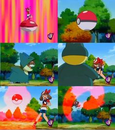 I laughed at this episode #funny #may #pokemon