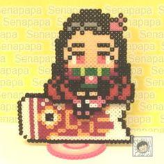 Bead Art, Perler Beads, Luigi, Pixel Art, Anime Characters, Cross Stitch, Crafts, Design, Hama Beads