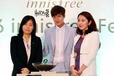 Lee Min Ho for Innisfree Festa in Singapore 12.17.13