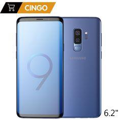 3d7b97e58a214 Original Samsung Galaxy S9 Plus 6.2 inch Dual Sim 6GB RAM 64GB 128GB ROM  Snapdragon