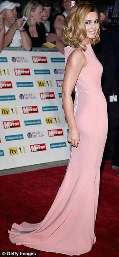Cheryl Cole in Victoria Beckham dress