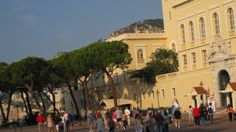 Monaco - the official palace.
