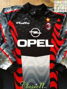 a54c09d7dc9 1997 98 AC Milan Goalkeeper Football Shirt (XXL)  BNWT