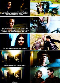 Teen Wolf 6x08 - I have a son. His name is Mieczyslaw Stilinski. But we call him Stiles.