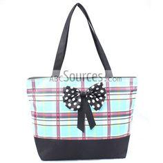 Light Blue British Style Bags, Tote Bags, Handbags