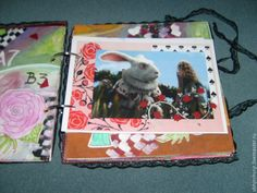 Купить Дневник Алисы. Фотоальбом, блокнот - цветы, подарок на день рождения, подарок на любой случай