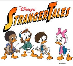 O ilustrador Brian Kesinger desta vez fez um mashup com Stranger Things e Duck Tales ( Just finished on What a great show! I heard the next season will be animated ; Stranger Things Season 3, Stranger Things Funny, Stranger Things Netflix, Strange Tales, Duck Tales, Fandoms, Lol, Nerdy, Crossover