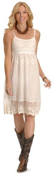 RU Cowgirl Pinot Lacy Chic Dress