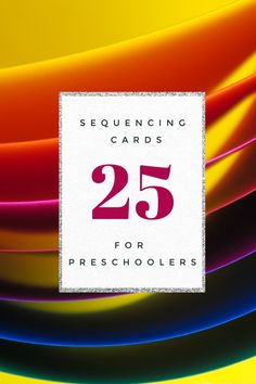 Start building a strong foundation for math and reading by introducing sequencing skills to your preschoolers. These free printable sequencing cards will get you started. #freeprintablesequencingcards #printablesequencingcards #sequencingcards #homeschoolprek