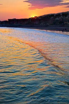 Ventura, California. California sunset. California beaches. California love.