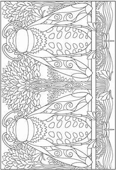 Haven créative incroyable dessins insectes Coloring Book 2568   coloriage à imprimer