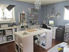 Ultimate scrapbooking room