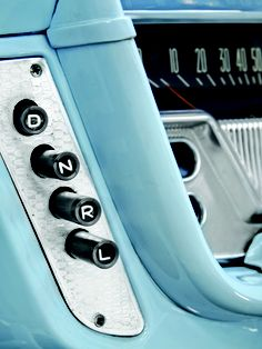 Like the button transmission in the Dodge Dart my mom had.