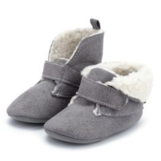 Simple Solid Fleece-lining Suede PU Ankle Boots for Baby and Toddler Boy Casual Work Outfits, Kids Outfits, Kids Clothesline, Boys Snow Boots, Baby Gap Boy, Cute Baby Shoes, Jumpsuits For Girls, Baby Slippers, Crib Shoes