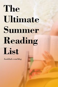 Add these recommended new fiction books to your summer reading list. #readinglist #beachreads #summerbooks