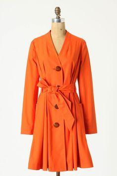 Tangerine Coat