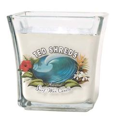 Keeping the scent of summer with lovely Ted Shreds candles at the Beach Boutique.