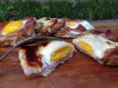 pane con l'uovo ricetta veloce